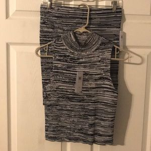 GUESS two piece skirt and top set